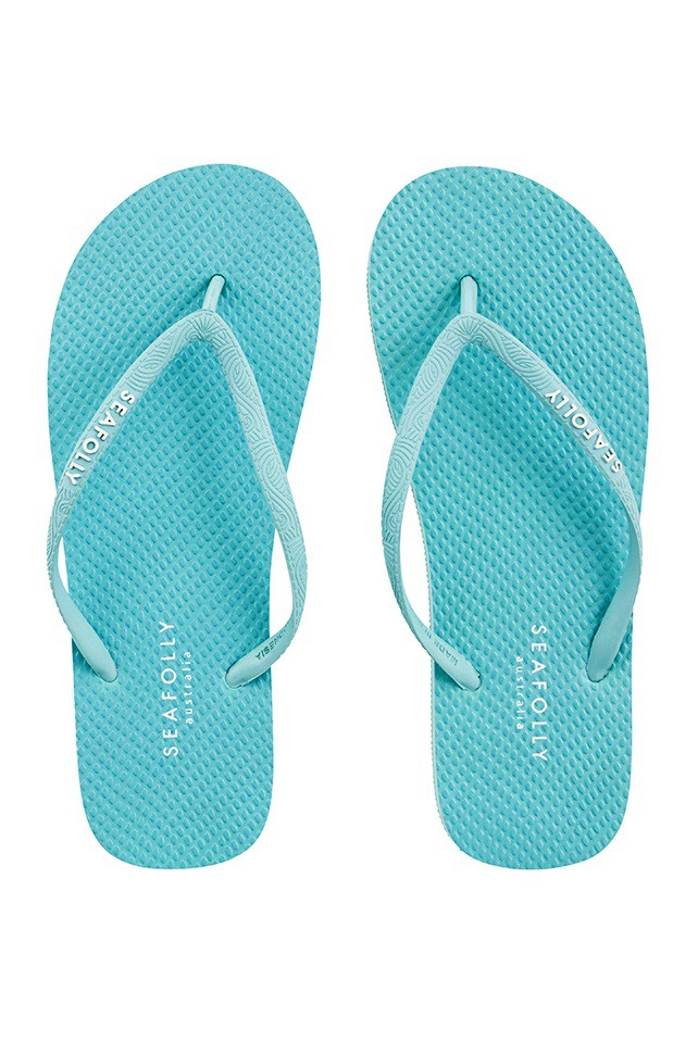 Flip-flop Seafolly Beach Basics Divine Bluemist