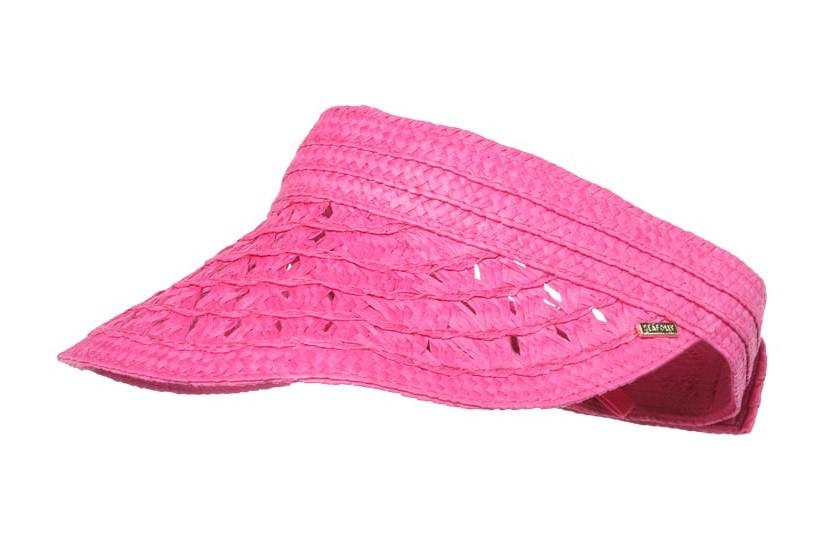 Napellenző Seafolly Daisy Roll Up Tahiti Pink