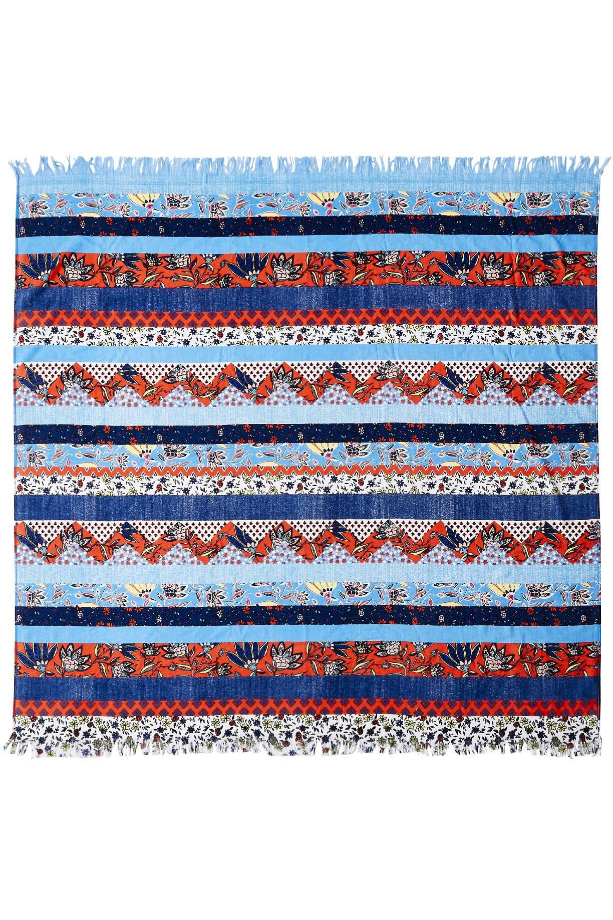 Törülköző Seafolly Folk Blanket & Bag Sienna