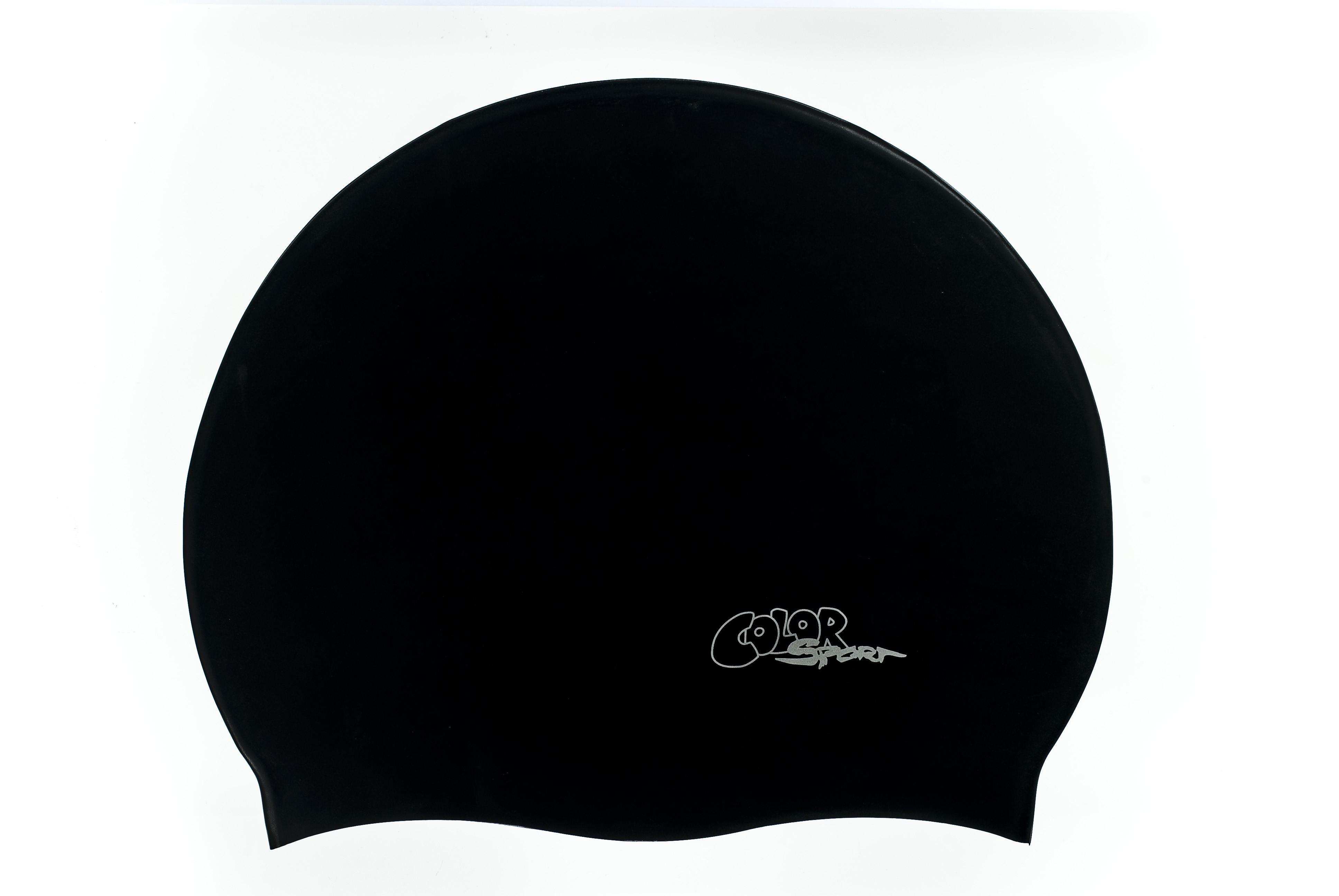Color Sport solid felnőtt úszósapka F209 black