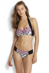 Bikini Seafolly Sahara Nights Soft Cup Halter Sahara