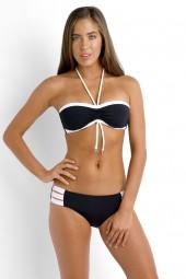 Bikini Seafolly Block Party D/DD Bandeau Black