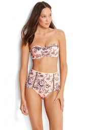 Bikini alsó Seafolly Love Bird High Waisted Peach