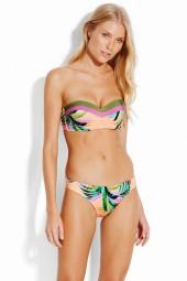 Bikini Seafolly Las Palmas Bustier Bandeau Peach