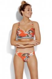 Bikini Seafolly Ocean Alley DD Cup Bralette Tangelo