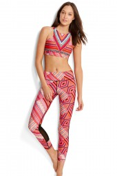 Legging Seafolly Desert Tribe Full Length Flame
