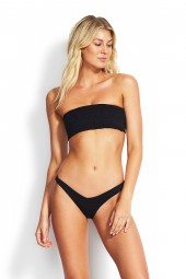 Bikini Seafolly Your Type Tube Bandeau Black