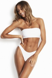Bikini Seafolly Essentials Tube Bandeau White