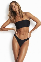 Bikini Seafolly Essentials Tube Bandeau Black