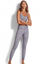 Legging Seafolly Spirit Animal Full Length Reflex Blue
