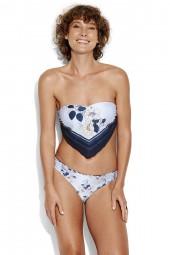 Bikini alsó Seafolly Splendour Reversible Hipster Indigo
