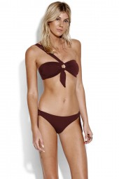Bikini Seafolly Active Ring Front Bandeau Plum
