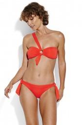 Bikini Seafolly Active Ring Front Bandeau Tangelo