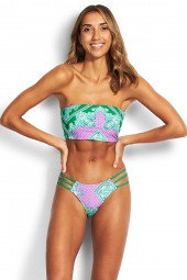 Bikini Seafolly Bandana Bay Longline Tube Jungle