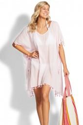 Kaftan Seafolly Beach Basics Amnesia Orchid Pink