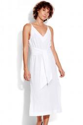 Ruha Seafolly Inka Gypsy Tie Front Slip White