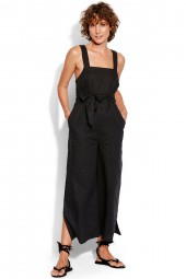 Jumpsuit Seafolly Inka Gypsy Cross Back Black