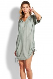 Ingruha Seafolly Crinkle Cotton Sage