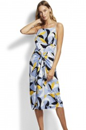 Ruha Seafolly Aloha Midi Steel Blue