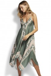 Ruha Seafolly Balinese Retreat Scarf Olive Leaf