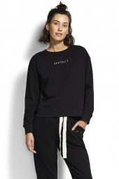Pulóver Seafolly Holiday Crew Neck Black