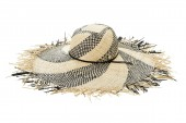 Kalap Seafolly Wide Brim Black/Natural