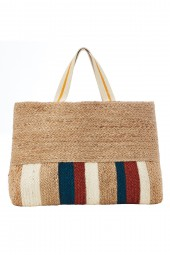 Táska Seafolly Jute Stripe Natural