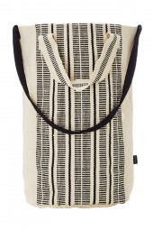 Táska Seafolly Stripe Canvas White/Black