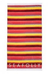 Törülköző Seafolly Baja Stripe Saffron