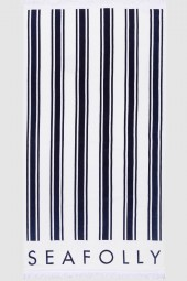Törülköző Seafolly French Stripe Indigo