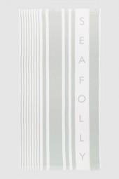 Törülköző Seafolly Multi Stripe Sage
