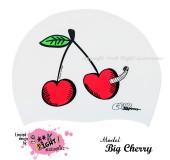 """Úszósapka Mintás Limited Design Felnőtt """"Big Cherry"""""""