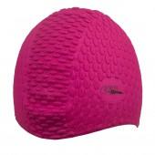Úszósapka Bubble - Hosszú hajra - Pink