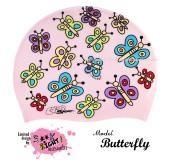 """Úszósapka Mintás Limited Design Gyerek """"Butterfly"""""""