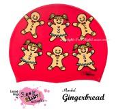 """Úszósapka Mintás Limited Design Gyerek """"Gingerbread"""""""