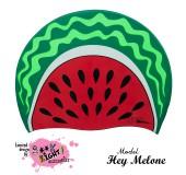 """Úszósapka Mintás Limited Design Felnőtt """"Hey Melone"""""""