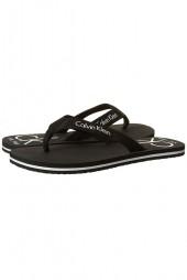 Flip-flop Calvin Klein Ff Webbing T-Bar Sandals Black