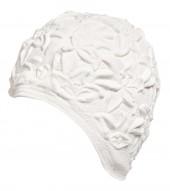 Úszósapka Latex - fehér liliomos