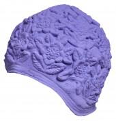 Úszósapka Latex - lila virágzás