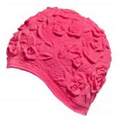 Úszósapka Latex - pink rózsás