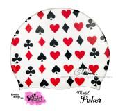"""Úszósapka Mintás Limited Design Felnőtt """"Poker"""""""