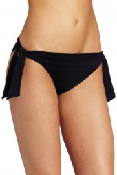 Bikini alsó Seafolly Loop Tie Side Hipster Black