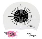 """Úszósapka Mintás Limited Design Felnőtt """"Target"""""""